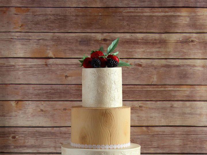 Tmx 1491184136961 Rustic Lace Wedding Cake1 Dickinson wedding cake