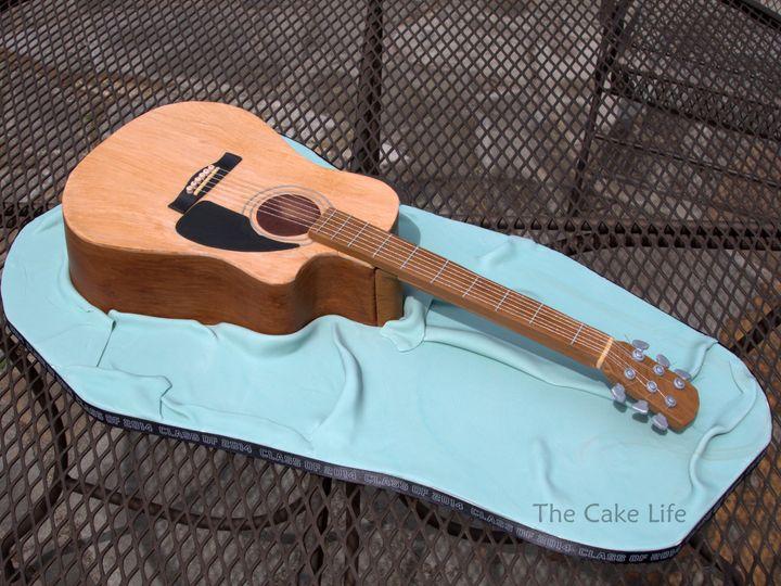 Tmx 1491184358524 Guitar Cake Dickinson wedding cake