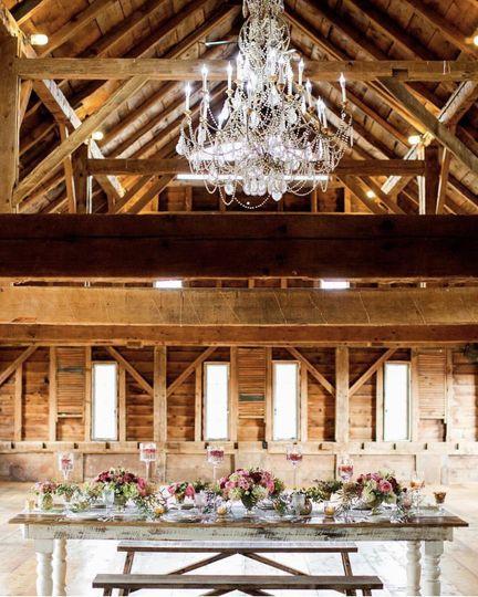 Gorgeous farm table