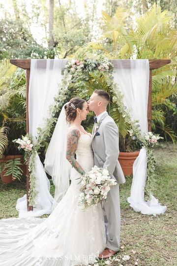 Ceremony bride & groom