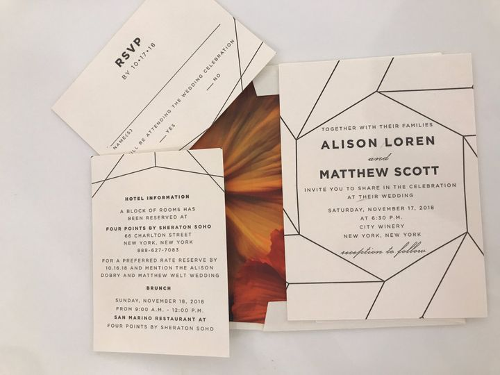 Tmx 57593834897 89ed1cdf 891f 4eb4 B527 10f290d25dd1 51 92990 1560119659 New York, NY wedding invitation