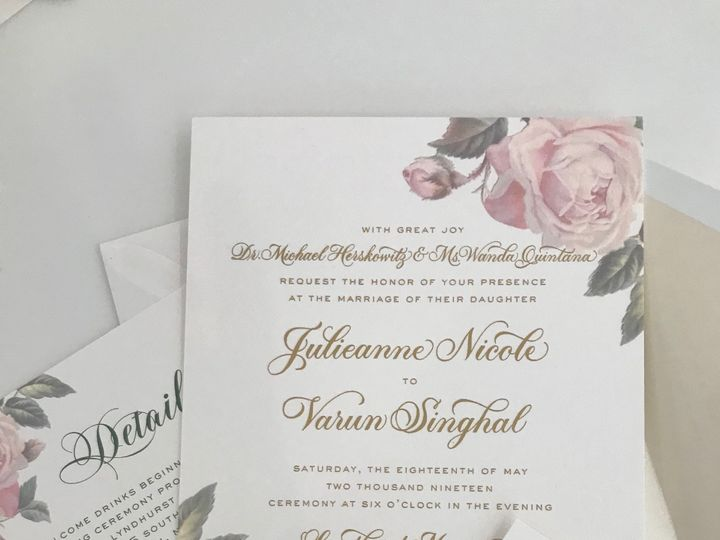 Tmx Img 2179 51 92990 1560119530 New York, NY wedding invitation