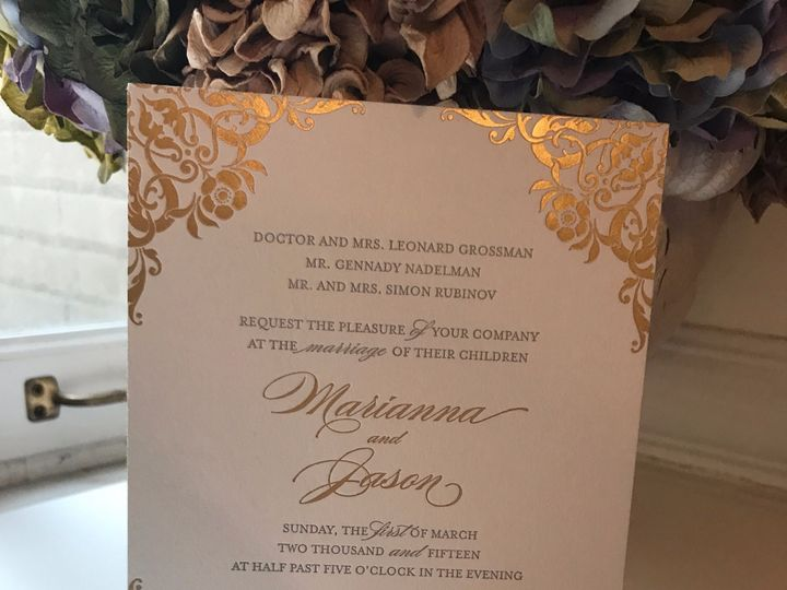Tmx Img 5378 51 92990 1560120711 New York, NY wedding invitation