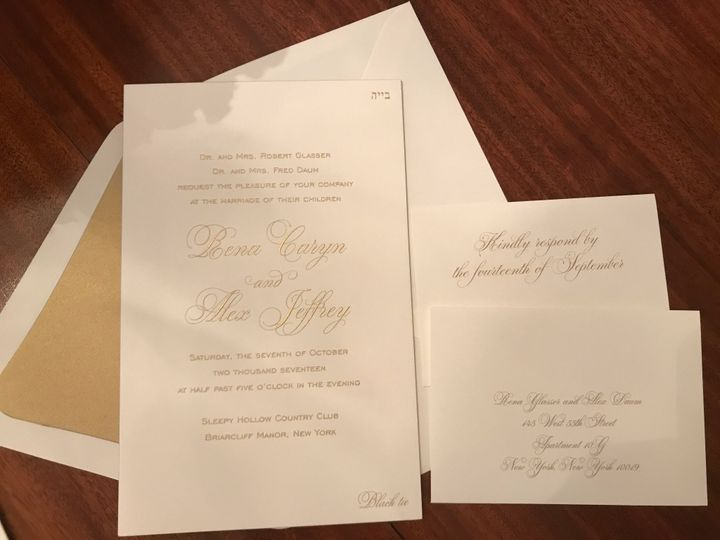 Tmx Img 5685 51 92990 1560120679 New York, NY wedding invitation