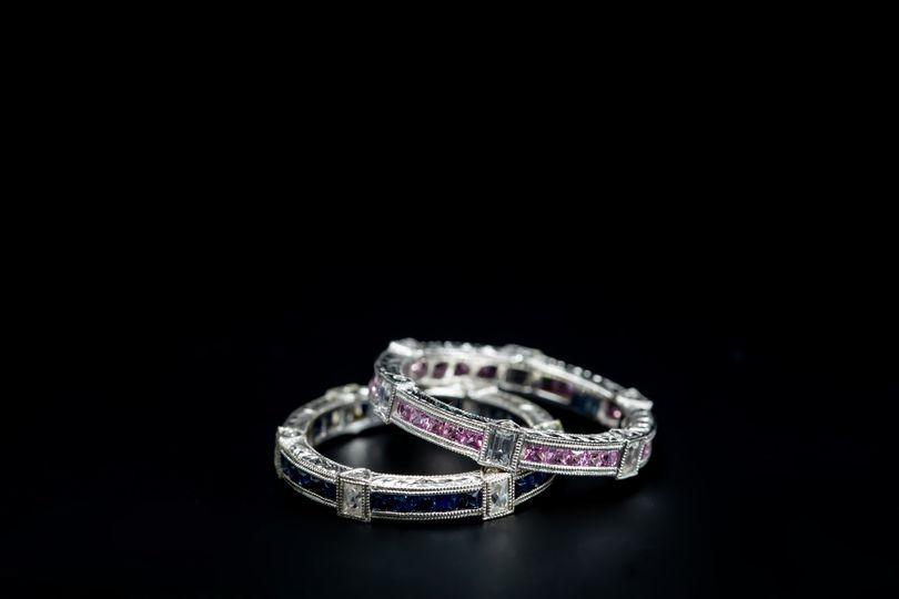 Art Nuevo Wedding Ring