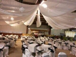 Romantic ceiling treatment