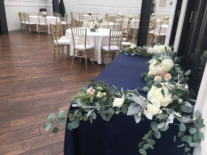 Fresh flower decors