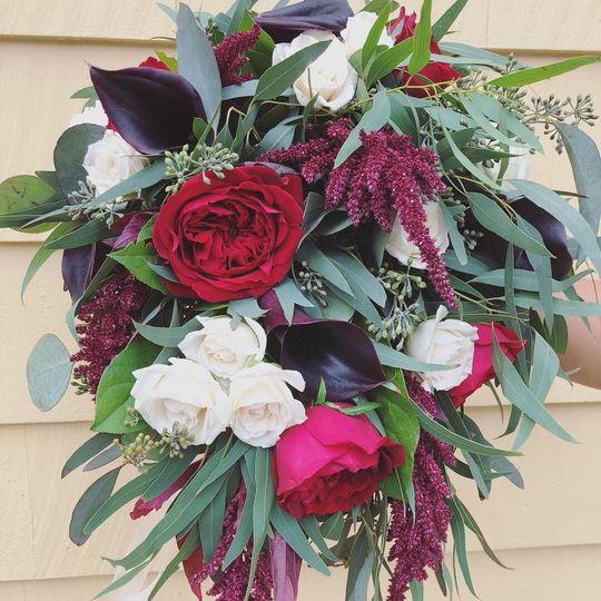 Autumn theme bouquet