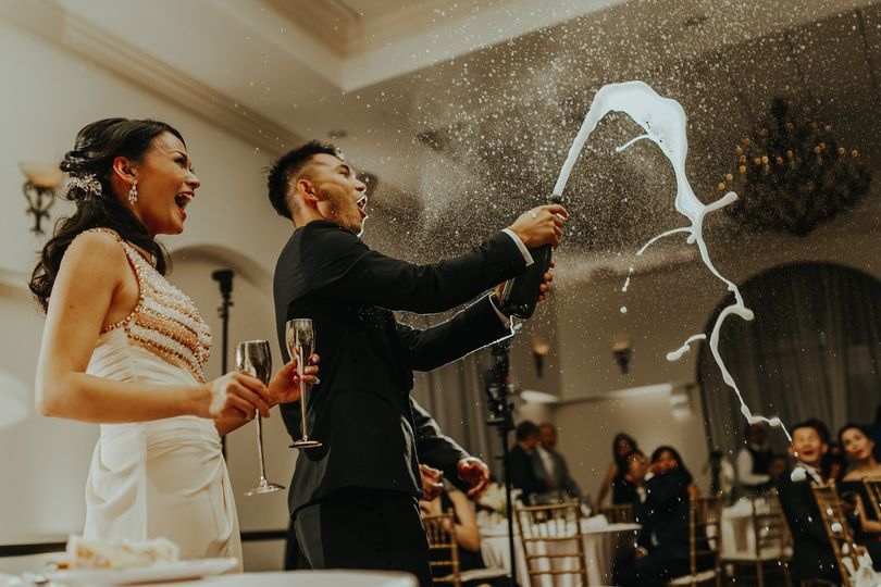 Champagne toast with a twist - QphotographY