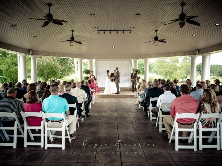 Tmx 1451324916733 Ceremony In The Pavilion  100 Mount Airy, NC wedding venue
