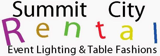 Summit City Rental.  We rent LED par can's, perfect for decorative room lighting.  Super easy to...