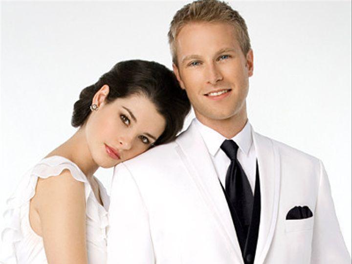 Tmx 1410718793885 La Strada White Tuxedo Black Pants2 Hopewell Junction wedding dress
