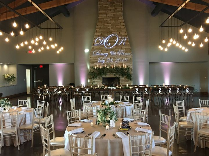 Tmx Canyonwood Ridge Uplights And Gobo 51 909990 157897284183870 Austin, TX wedding dj