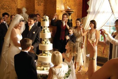 wedding reception header