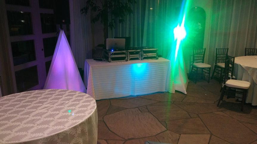 Creative reception lighting
