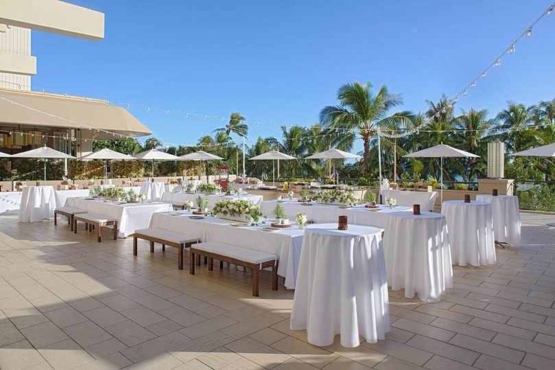 Terrace Reception