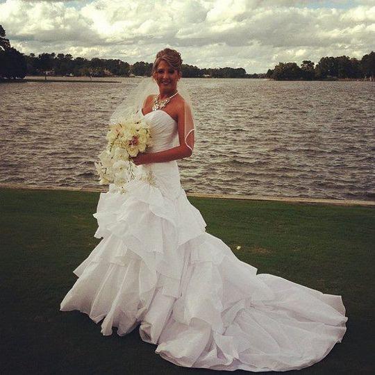 Diana Del Corsa...Pink and Sparkle Bride, October 2011