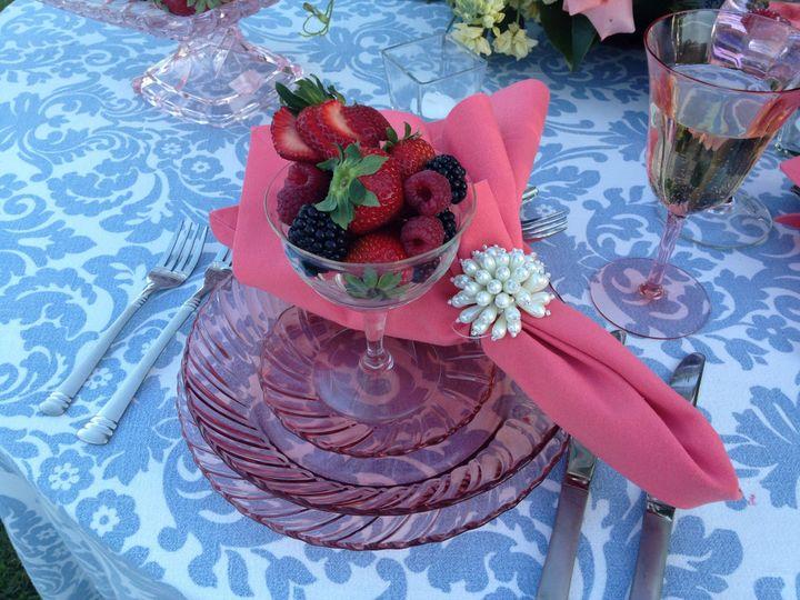 Tmx 1403878265393 Vintage Pink Glass Decor Williamsburg, VA wedding planner
