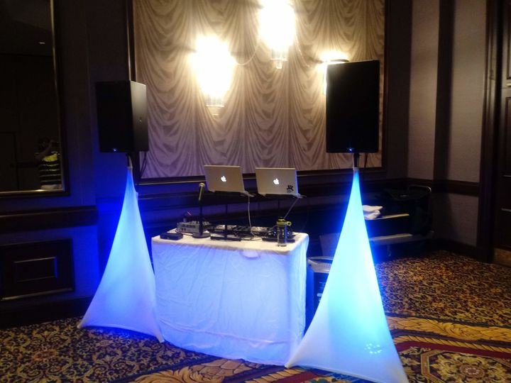 Private Party set-up with new QSC K12.2's