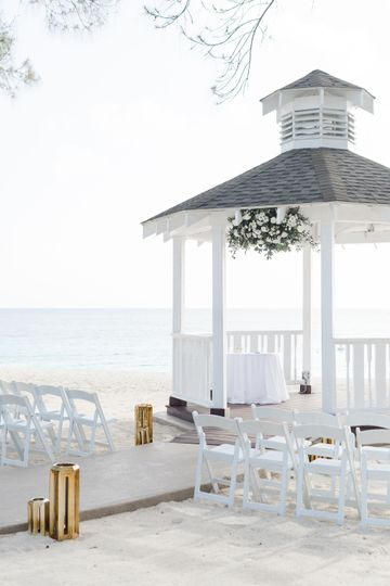 Beach south gazebo
