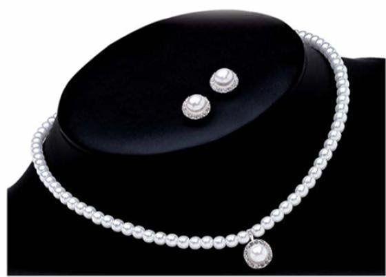 Tmx 1189409504640 BalletEarrings%26Necklace Pasadena wedding jewelry