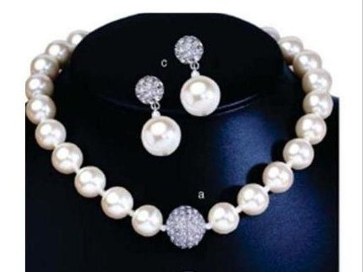 Tmx 1189411594859 OperaEarringsNecklace Pasadena wedding jewelry