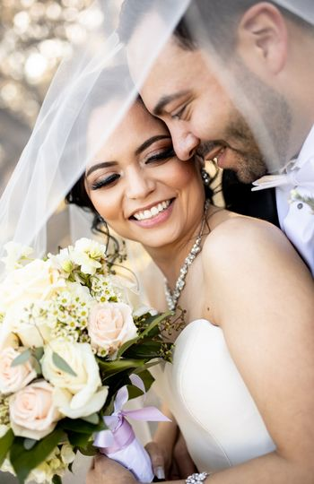 Portrait of the happy couple - Terah Caitlin Photography