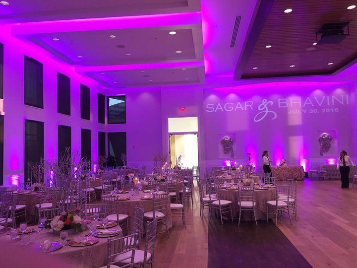 Beautiful event lighting