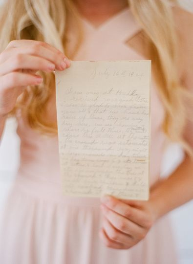 Letters from early 1900's