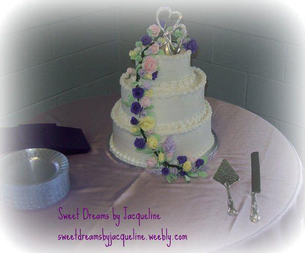 Tmx 1317527960966 10111631 Whitsett wedding cake