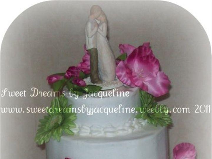 Tmx 1317528394647 1011215 Whitsett wedding cake
