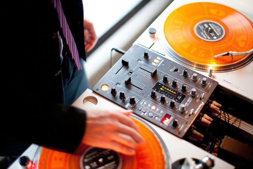 DJ controls