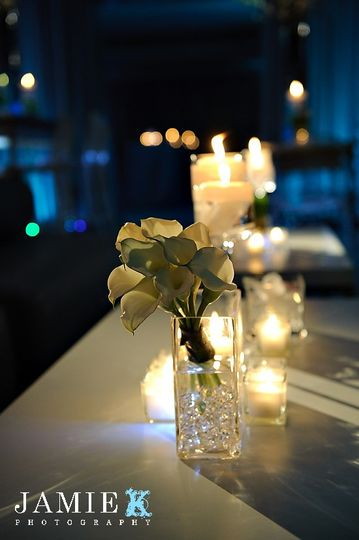 Floral and lights
