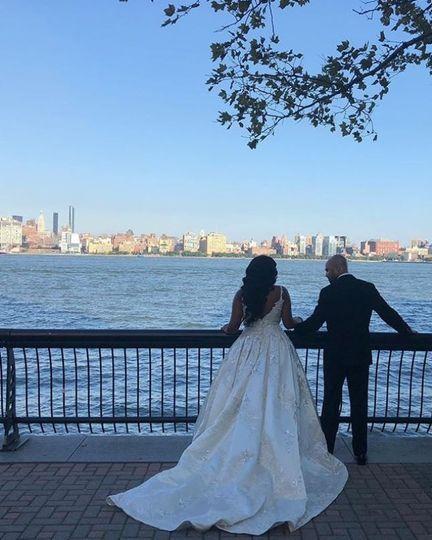 Wedding Couple in NYC