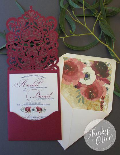 burgundy navy invitation open 2
