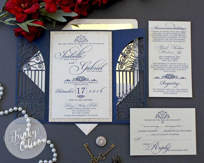 Wedding Invitations Albuquerque: Funky Olive Design Company