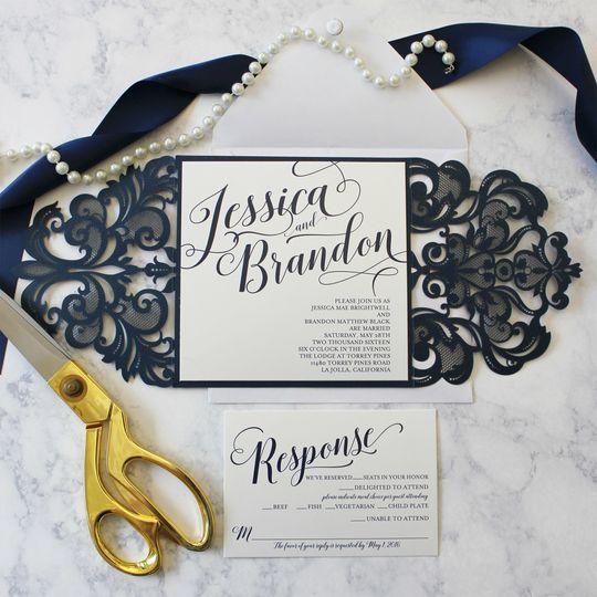 Funky olive design company invitations albuquerque nm weddingwire stopboris Choice Image
