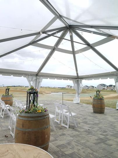 Country club wedding venue