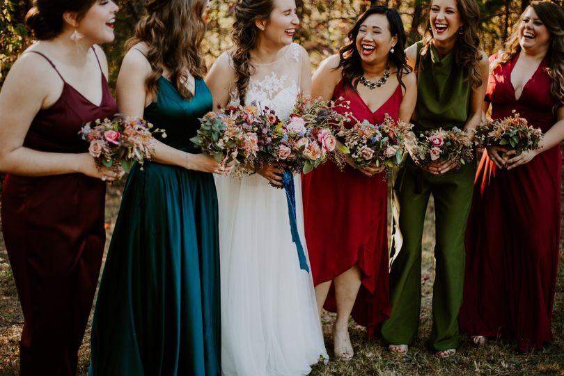 Bridesmaid love.