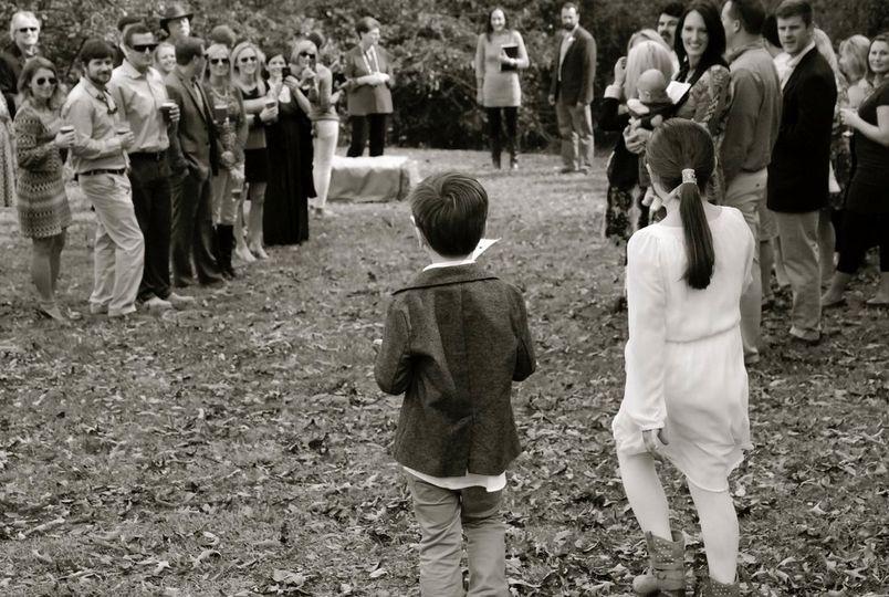 An intimate Fall wedding