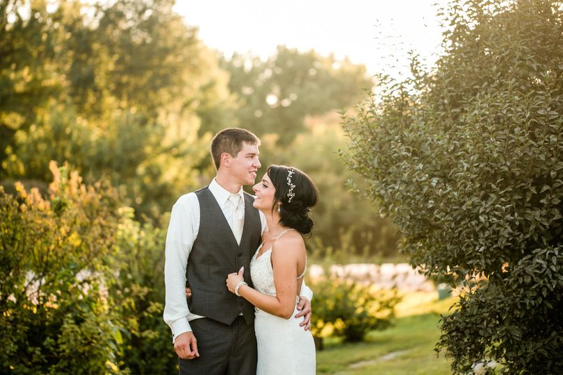 Lauren & Justin married at Prairie Moon Winery & Vineyards, in Ames Iowa, on a gorgeous September...