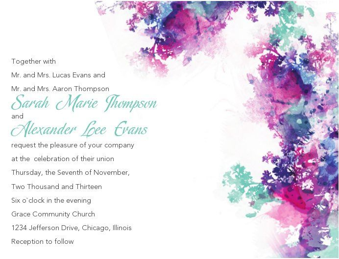 Tmx 1363144858501 SWSinvitationindigorushwithfont Littleton wedding invitation