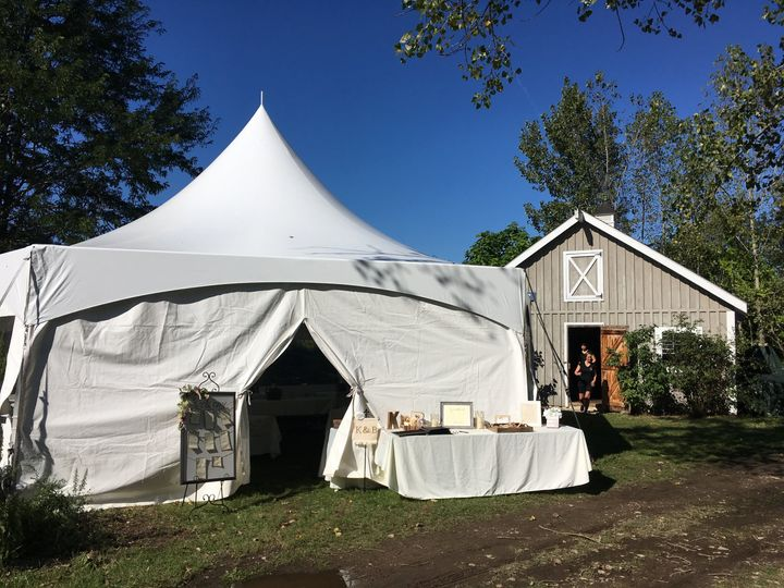 ACLC Tent and Barn