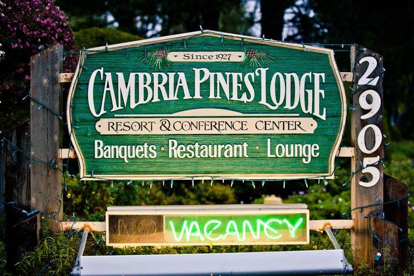 Welcome to Cambria Pines Lodge