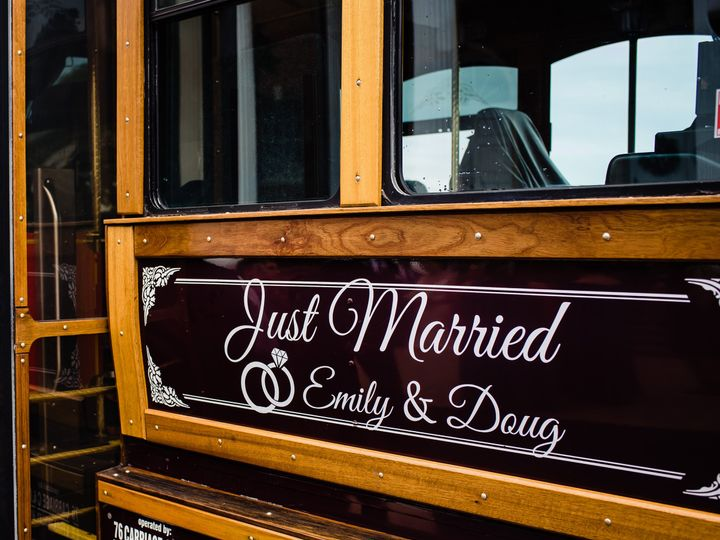 Tmx Trolley Decal 51 973101 Philadelphia, PA wedding planner