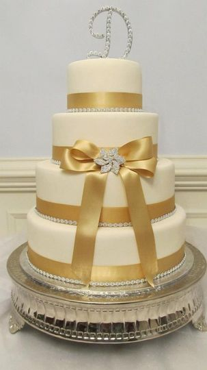 Donna\'s Baking Creations - Wedding Cake - Richmond, VA - WeddingWire