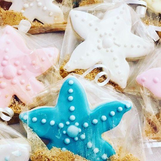 Beach Graduation Cookies
