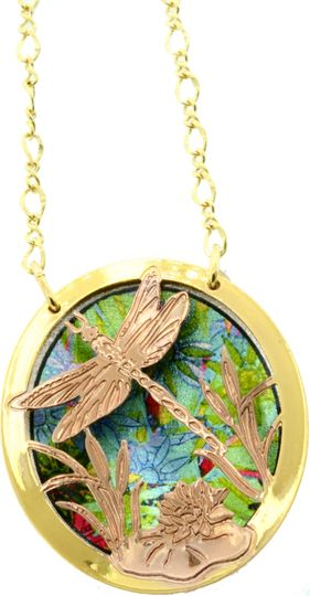 Dragonfly jewelry necklaces