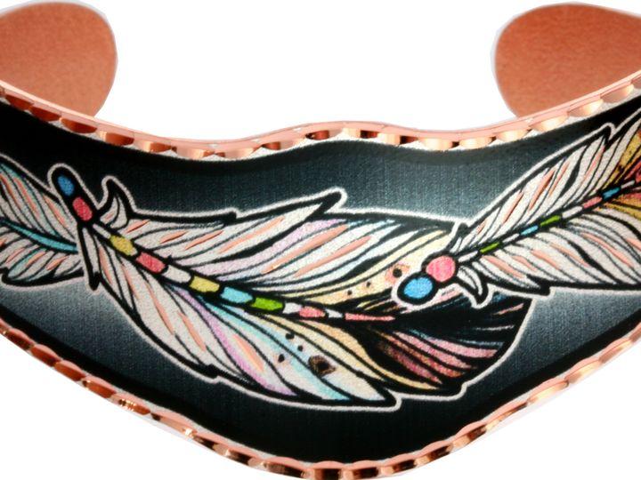 Tmx Feather Design Bracelets Bn 01 51 1024101 Naperville, Illinois wedding jewelry