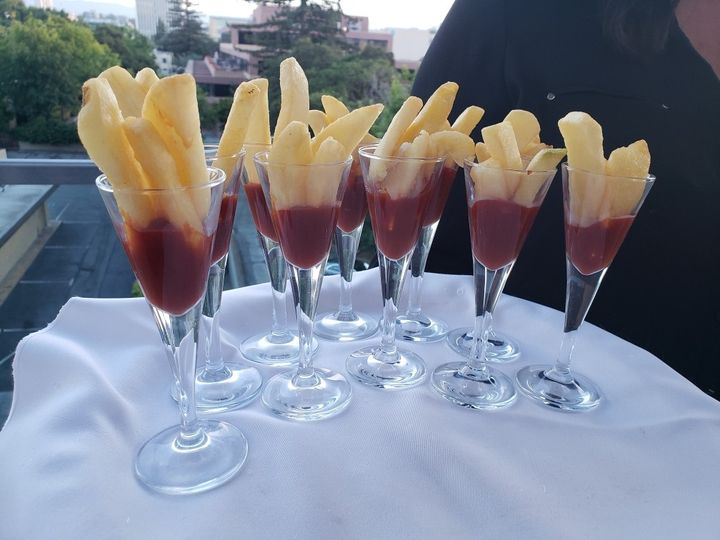Tmx French Fries Ketchup Cheat A Little Catering 51 1044101 159267627115979 San Mateo, CA wedding catering